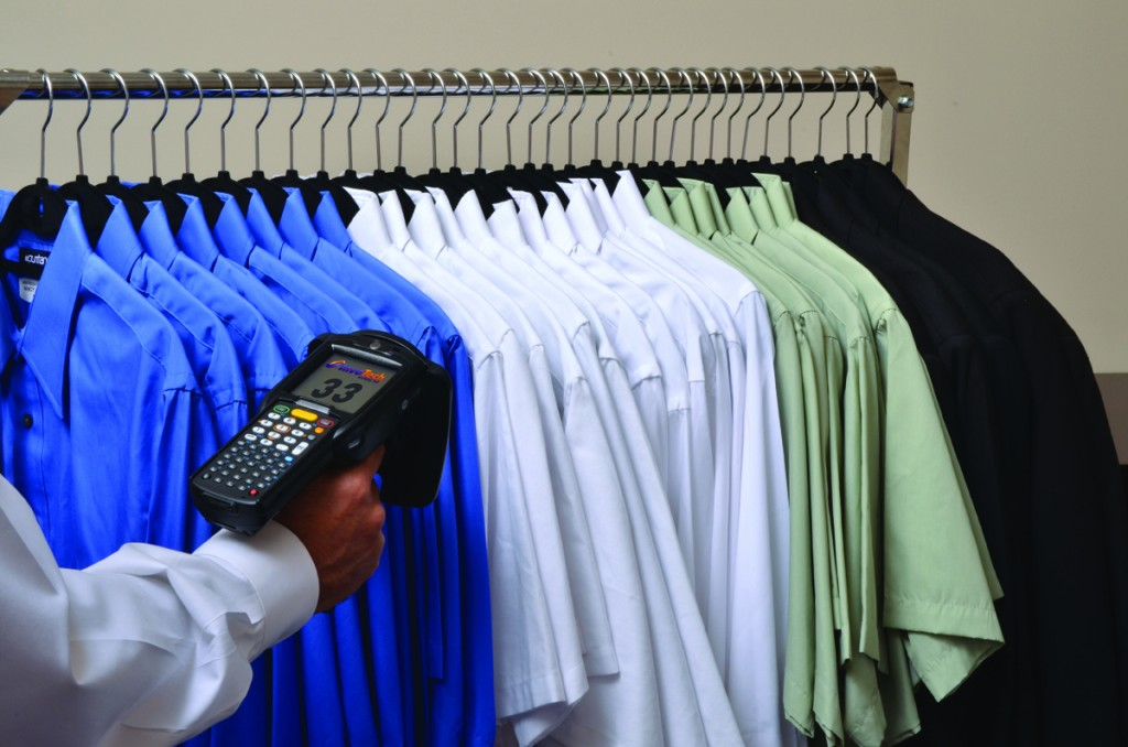 Hand Scanning Uniforms